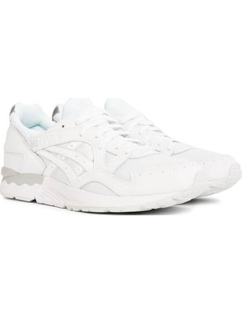 d087b054e393a Asics. Gel-Lyte V Trainer White White. from The Idle Man