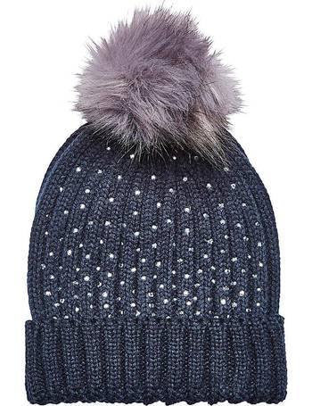 Joe Browns Holly Jolly Xmas Faux Fur Bobble Hat