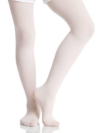 8b33fd1f3dcdd Girls 1 Pair Silky Ballet Foot Tights from Sock Shop