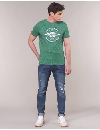 e98f7f5a Jack Jones JJIGLENN men's Skinny Jeans in Blue from Spartoo