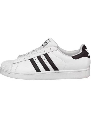 sports shoes 8ac33 3d92d Mens Superstar 2 Trainers White/Black