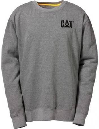 CAT Caterpillar Flex Layer Quarter Zip Top Mens Durable Work Jumper Sweater