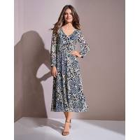 Floral Midi Dress from Fashion World