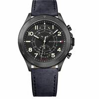 H Samuel Mens Leather Strap Watches