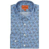 Simon Carter Print Shirts For Men