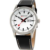 Mondaine Men's Leather Watches
