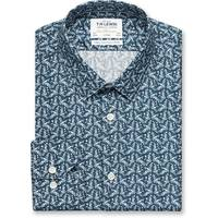 TM Lewin Print Shirts For Men