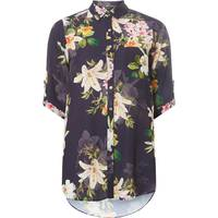 Dorothy Perkins Womens Navy Shirts
