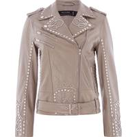 Womens Leather Biker Jackets from House Of Fraser