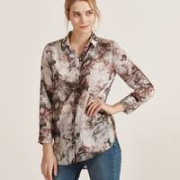 Women's Apricot Printed Shirts