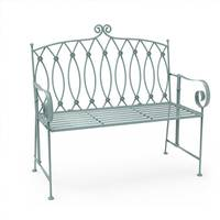 Charles Bentley Wrought Iron Benches