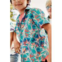 next boy's print shirts