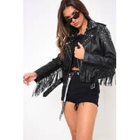 Womens Leather Biker Jackets from I Saw It First