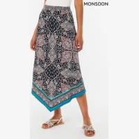 Next UK Womens Printed Skirts
