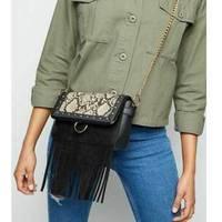 Black Fringe Bags For Ladies