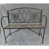 Dakota Fields Wrought Iron Benches