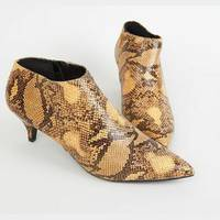 Kitten Heel Ankle Boots from New Look