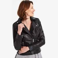 Womens Leather Biker Jackets from Fashion World