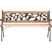 Living and Home Cast Iron Benches