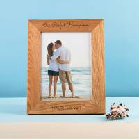 Wood Photo Frames from Getting Personal
