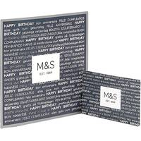 Marks & Spencer Birthday Cards